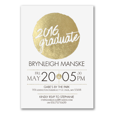 Grad Glitz - Graduation Announcement